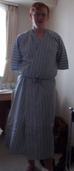 Me in the robe